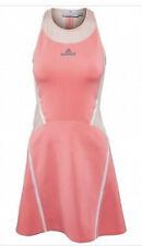 Adidas Stella McCartney Barricade tennis dress Coral Pink  Sz S Stretch