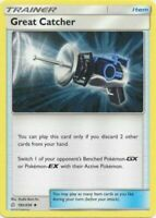 4x Great Catcher 192/236 Cosmic Eclipse Pokemon Playset Uncommon NM Pack Fresh