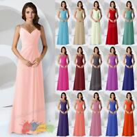 Chiffon Bridesmaid Formal Party Prom Evening Dress Colour Sample Not A Dress!