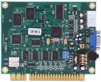 NEW 19 in 1 Horizontal Multicade Arcade Multigame PCB Board for Jamma Video Game