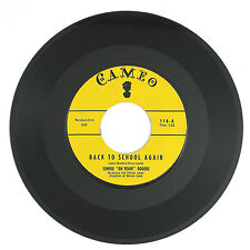 TIMMIE ROGERS Back To School Again/I've Got A Dog Who LovesMe 7IN (R&B) VG++