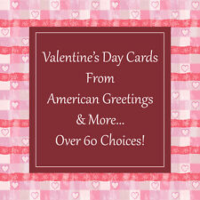 New American Greetings Premium Valentine's Day Cards + More: Over 60 Choices!