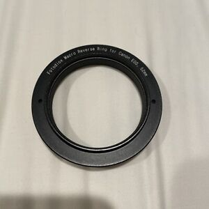 Fotodiox Macro Reverse Ring for Canon 52mm