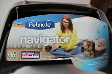 Petmate Navigator Kennel Dog Crate Plastic Travel Airline Pet Carrier
