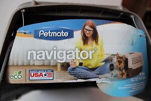 Petmate Navigator Kennel Dog Crate Plastic Travel Airline Pet Carrier