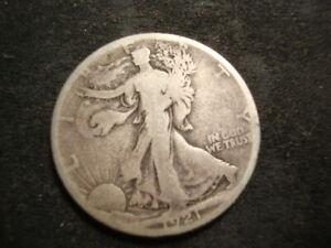 1921-S VG Walking Liberty Half Dollar Nice AZX