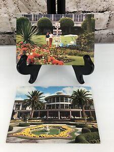 Florida FL Miami Doral Country Club Postcard View Standard Post Old Vintage Card