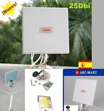 Antena wifi Yagi Panel 25 Dbi Exteriores,Envios desde España