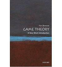Game Theory: A Very Short Introduction by Ken Binmore (Paperback, 2007)