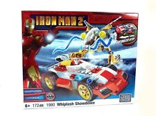 MEGA BLOKS 1980 Iron Man 2 Whiplash Showdown 172 Teile Bausatz NEU & OVP 6+
