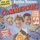 "RARE 1989 TEEVEE TOONS:""THE COMMERCIALS"" 50 AD JINGLES w/LYRICS BOOK-SHIPS FREE!"