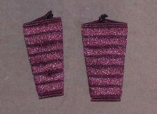 Paire de protections, manchons élastiques pour accordéon. Couleur rouge Bordeaux