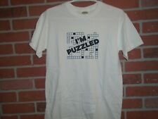 I'M PUZZLED UNISEX ADULT TSHIRT SIZE SMALL WAS WORN 1 TIME