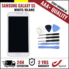 AAA+ LCD TOUCH SCREEN/SCHERM/ÉCRAN WHITE + TOOLS FOR SAMSUNG GALAXY S5 I9600