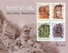 Sri Lanka  2015 Miniature souvenir Sheet Ancient Sri Lanka uralt ancien oude