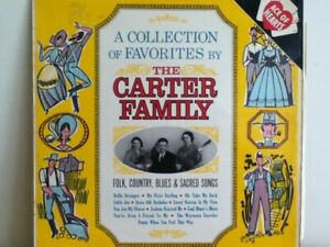 THE  CARTER    FAMILY    LP   A  COLLECTION  OF  FAVOURITES BY THE CARTER FAMILY