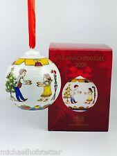 Hutschenreuther Porzellan Weihnachtskugel Kugel 2008 mit Originalverpackung NEU