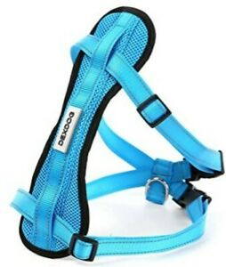 Dexdog Chest Plate Dog Harness BLUE XS Car Safety Harness*NIP*