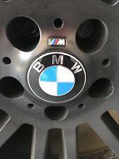M Sport BMW badge sticker emblem logo for BMW sports wheels 2 sets
