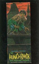 Hunchback of Notre Dame 1963 VINTAGE Original Box Aurora Model Kit #461-98