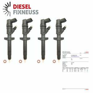 4x Injektor Bosch 0445110087 Renault Trafic Master II 2.5 dCi Trafic II 2.5 DTi