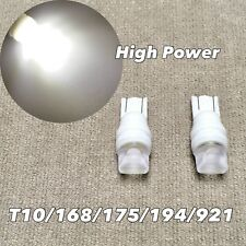 PARKING LIGHT T10 LED 6000K GLASS LENS bulb w5w 168 194 3SMD for Toyota L