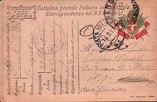 1917 FRANCHIGIA 49° FANTERIA BRIGATA PARMA - GENIO ZAPPATORI P.M. 61 C8-330