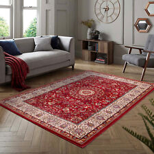 Ultimate Madras 0772 Red Luxury Traditional Style Rug various sizes