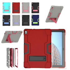 For Lenovo Tab P10 10.1 Inch Shockproof Kickstand Case+Screen Protector Film