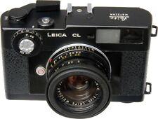 Leica CL & 40mm F2