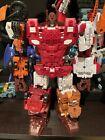 Mint Computron Unite Warriors Combiner Technobots Transformers Upgraded! Takara