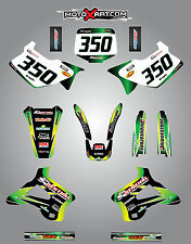 KX 125 / 250 1994 - 1998 Full graphics kit sunrise custom sticker kit / decals