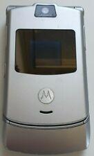 Motorola V3-Plateado (Naranja) Teléfono Móvil, vendedor de Reino Unido
