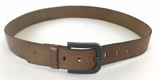 """Burton Brown Leather Unisex Casual Formal Jeans Waist Belt Size 40"""" inches Long"""