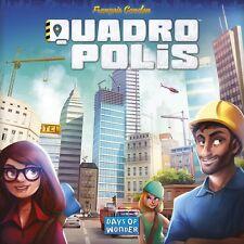 Quadropolis - Board Game - English - Brand New
