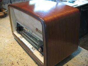 German Nordmende Turandot tube radio working