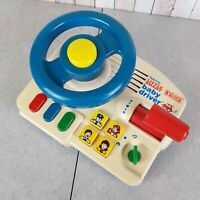 VTECH | Talking Little Smart | Baby Driver | Tested and Working | Vintage Toy