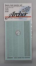 Archer O-Scale (1/48) Resin Rivet Starter Set (4 different types) AR88091