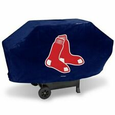"""BOSTON RED SOX ECONOMY GRILL COVER DURABLE VINYL 68"""" BBQ COVER FREE SHIPPING NEW"""