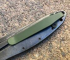 Matte OD Green Titanium Deep Carry Pocket Clip Made For Kershaw Leek 1660 Knife