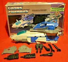 Transformers Original G1 1988 SkyStalker Micromaster Boxed near complete