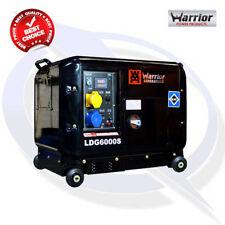 Warrior LDG6000S 5KW Silenced Diesel Generator (Autostart Ready)