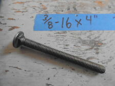 Steel Carriage Bolt 3/8-16 x 4, (30) Bolts for $22.00!