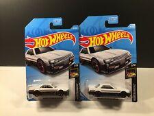 NEW Lot of 2 Hot Wheels #48 NIGHTBURNERZ # 1/10 Nissan Skyline RS (CAR18-21)