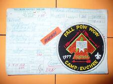 OA Yustaga Lodge 385,1977 Fall Pow Ww,Manufacturer Sample &Card,pp,Florida,FL,AL
