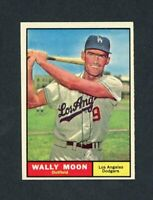 1961 TOPPS # 325 WALLY MOON  NM +