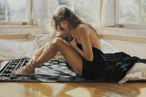 Steve Hanks  Comforting The Heart S & N Limited Edition With Certificate