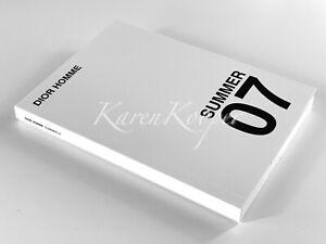 DIOR HOMME 2007 CATALOG BOOK BY HEDI SLIMANE PRICELIST MEN ACCESSORIE SHOES RARE
