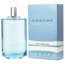 Authentic Chrome Legend Cologne by Azzaro for Men EDT 4.2 oz New In Box