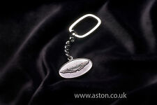 ANTHONY HOLT 925 STERLING SILVER GENUINE ASTON MARTIN OVAL KEY RING